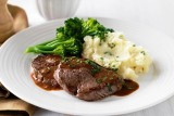 Steak Dianne with Chive Mash