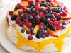 peach and raspberry pavlova December 2018
